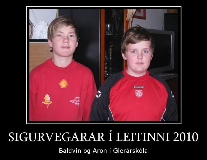 sigurvegarar 2010